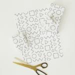 printable pattern gift wrap