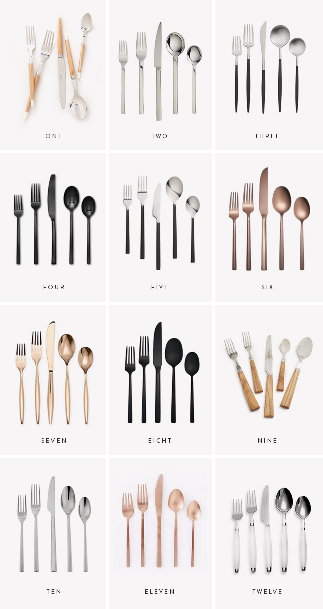 modern flatware sets  almost makes perfect - i am still very kitchen obsessed rn and i've reeeally been wanting somenew flatware lately because ours isn't cute or clean anymore gold