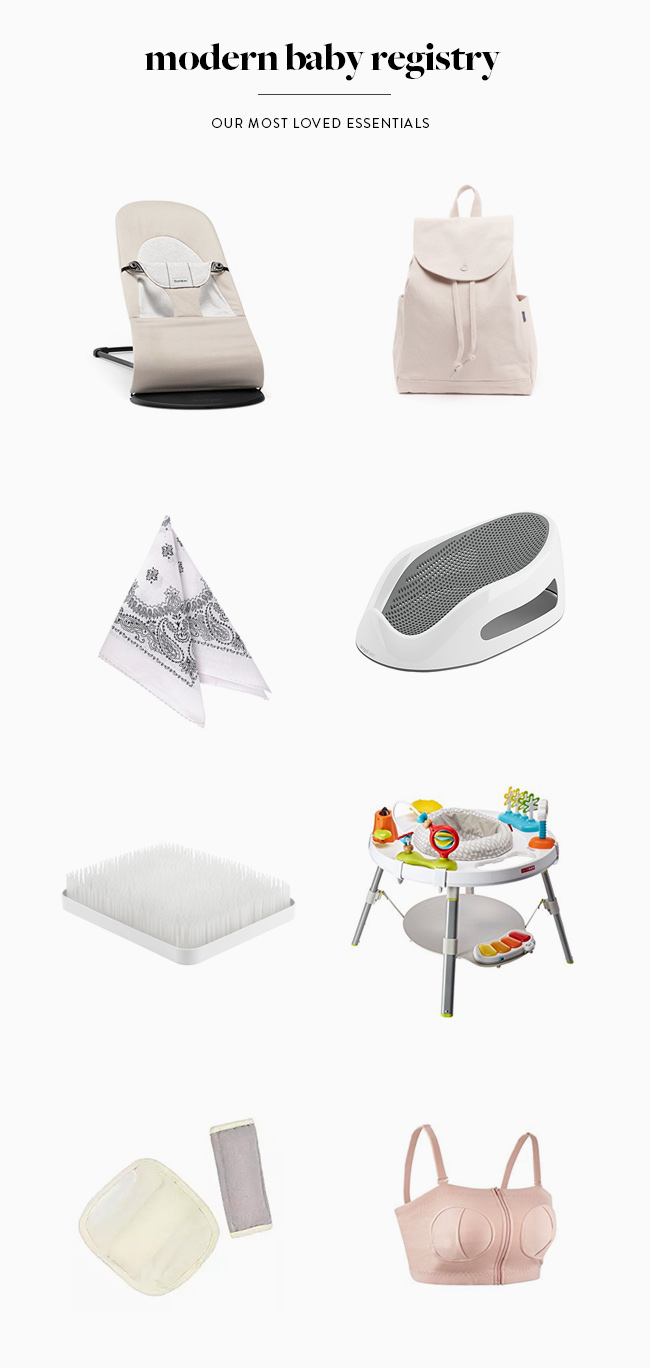 modern baby registry - almost makes perfect