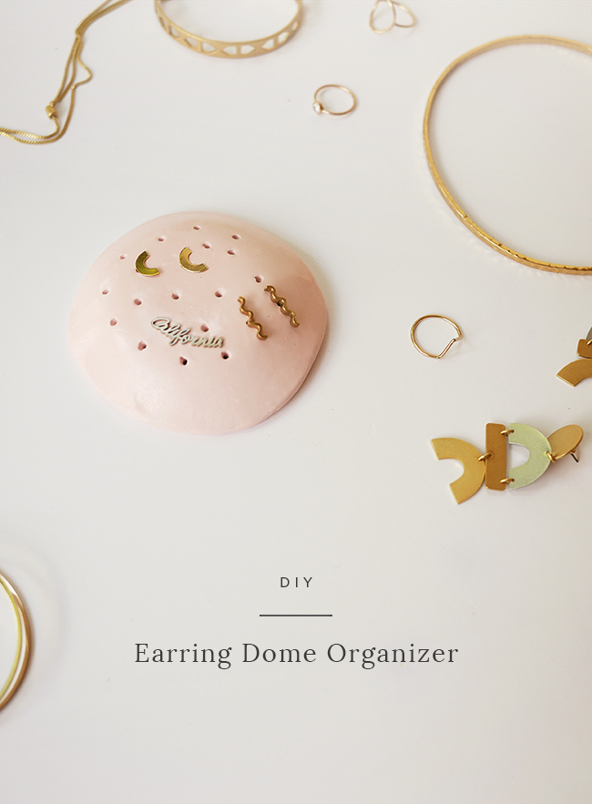 Diy Earring Dome Organizer Almost Makes Perfect