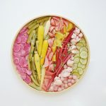 rainbow pickled platter
