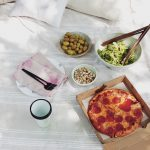 how to setup a romantic picnic (for three)