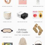 holiday gift guide : for the homebody