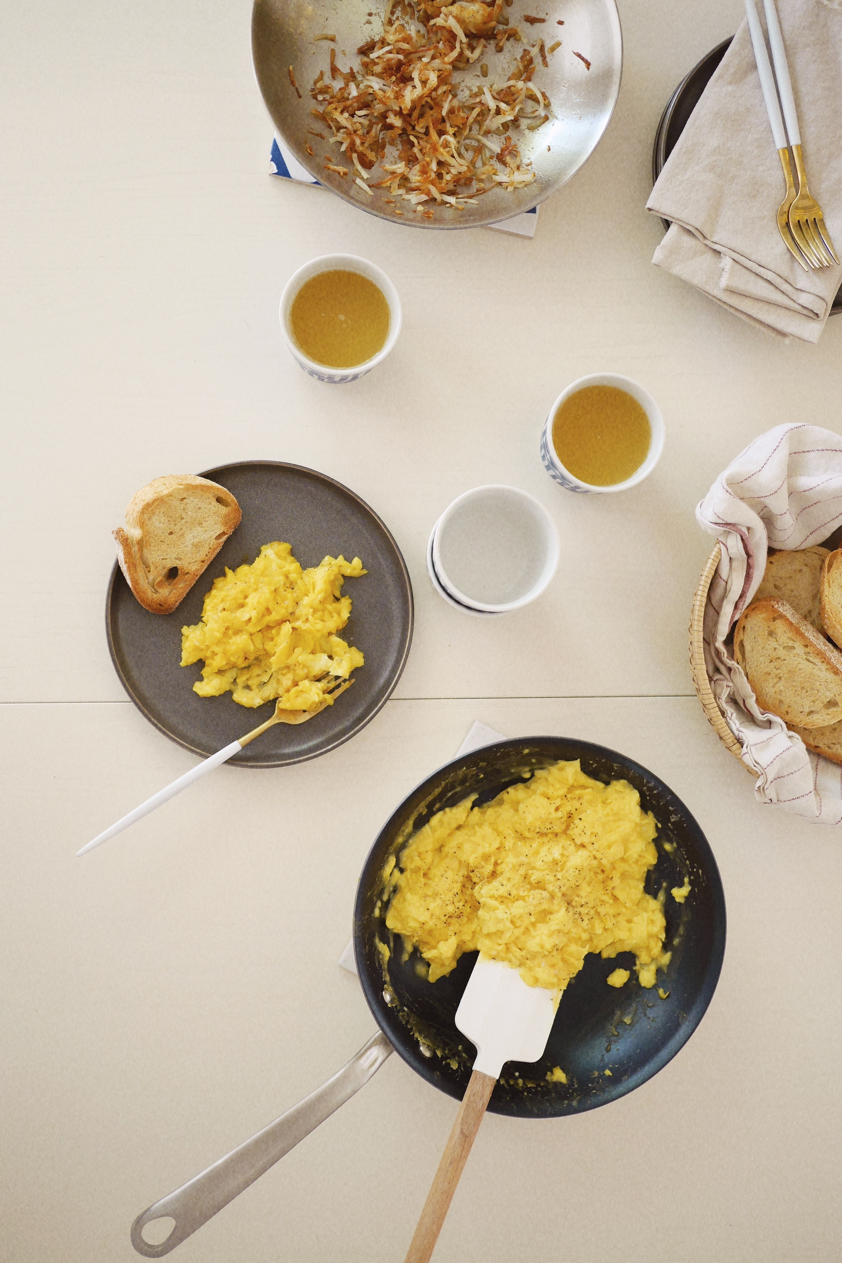 How to make perfect scrambled eggs almost makes perfect for French style scrambled eggs