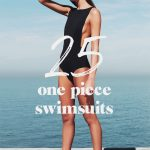 25 chic one piece swimsuits