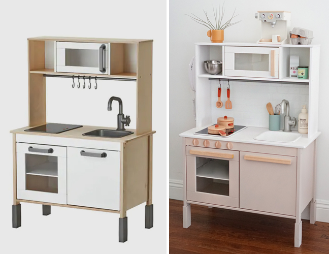 Modern Ikea Play Kitchen Hack Almost Makes Perfect