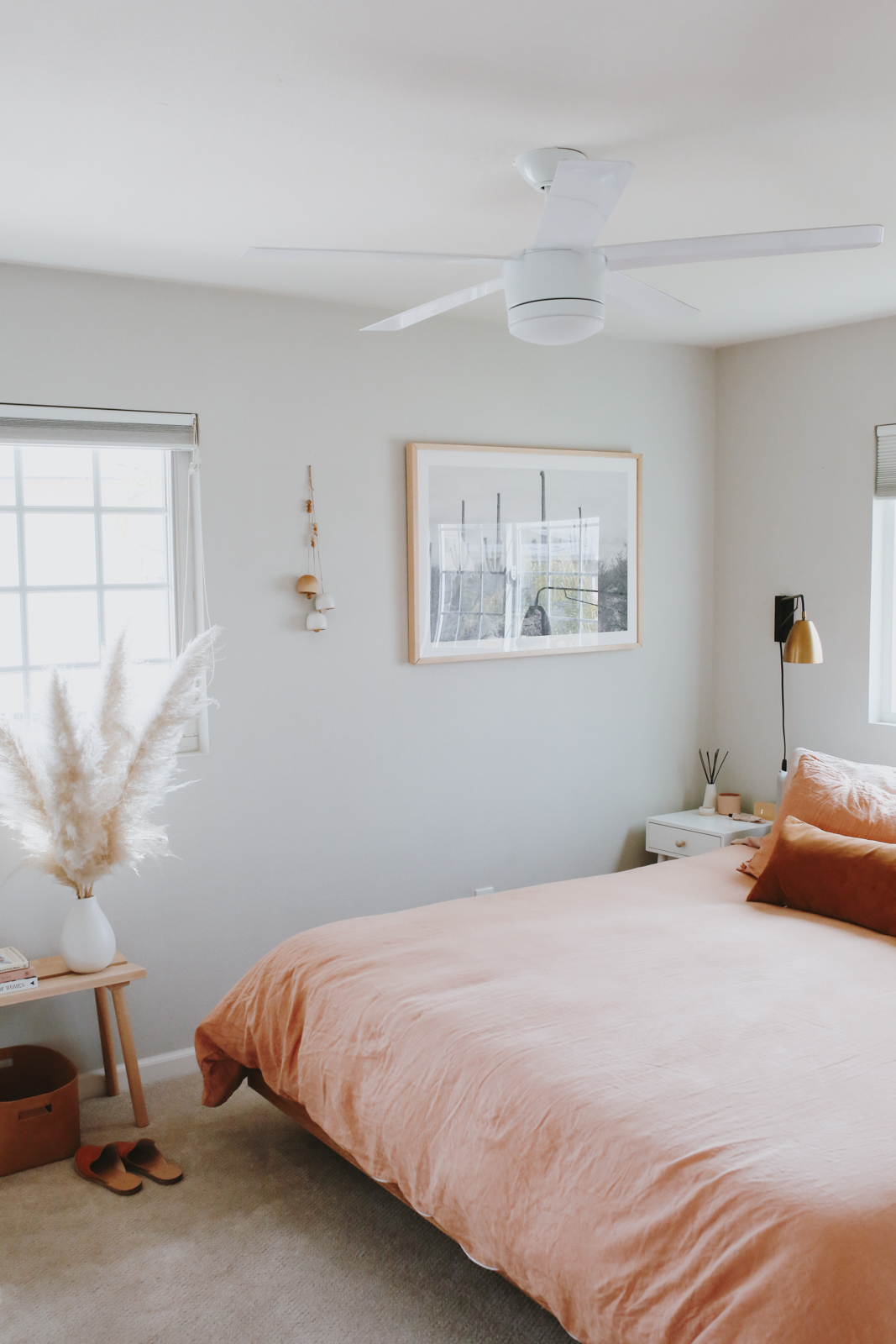 vanessas bedroom - after - almost makes perfect