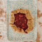 super easy strawberry galette