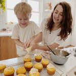tips for baking and cooking with a toddler (and enjoying it too)