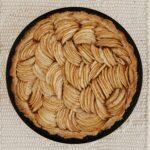 an easy (but SUPER FANCY looking) apple tart
